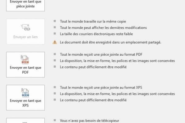 Comment envoyer des pièces jointes en format PDF ?